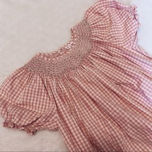 Other - || 100% cotton gingham smock dress
